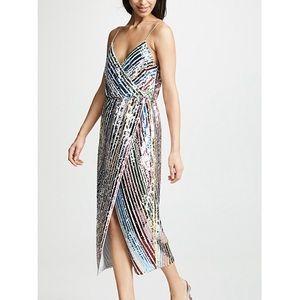 Saylor Sallie Sequin Dress NWT Sz L